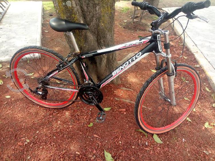 Bicicleta benotto aluminio rodada 26