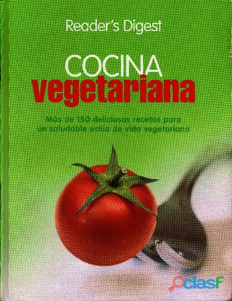Libro de cocina vegetariana y vegana, reader's digest