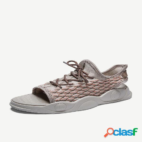 New season sandalias casual hombre playa zapatos trend sports sandalias y zapatillas doble uso al aire libre zapatillas