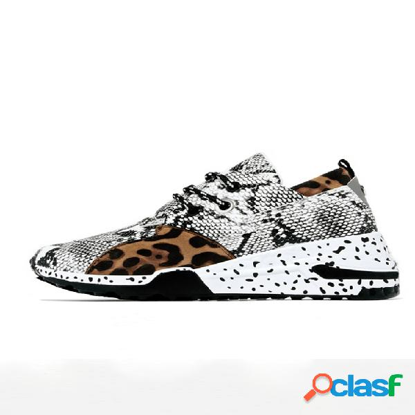 Zapatos de cuña deportivos de empalme informal antideslizantes de gran tamaño para mujer soft