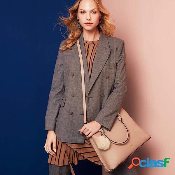 Kadell elegante bolso de mujer de gran capacidad crossbody bolsa
