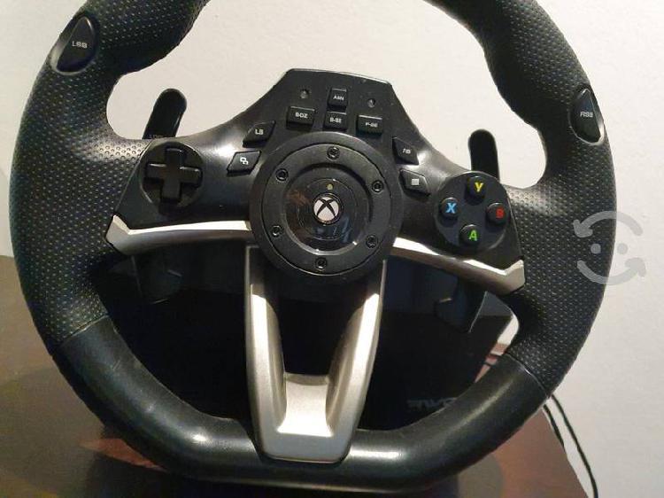 Xbox volante original con pedales