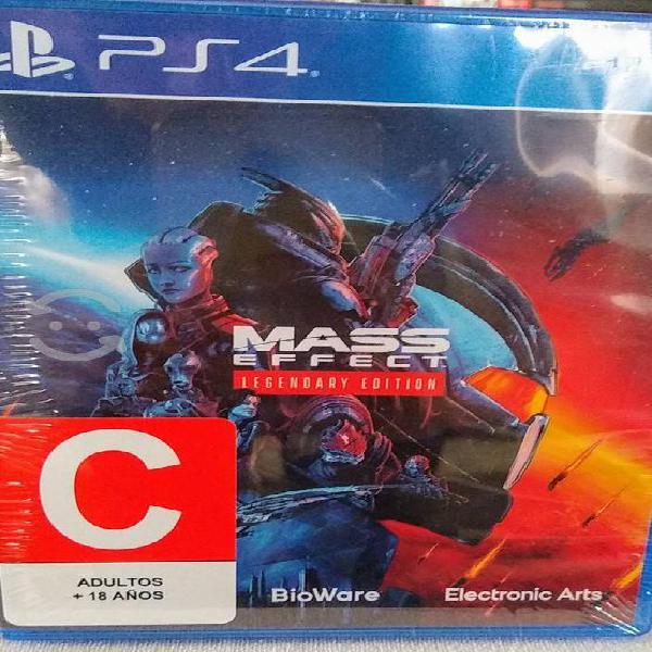 Venta mass effect legendary edition nuevo sellado