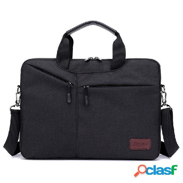 Bolso de la computadora de los hombres de negocios paquete hombro bolsa