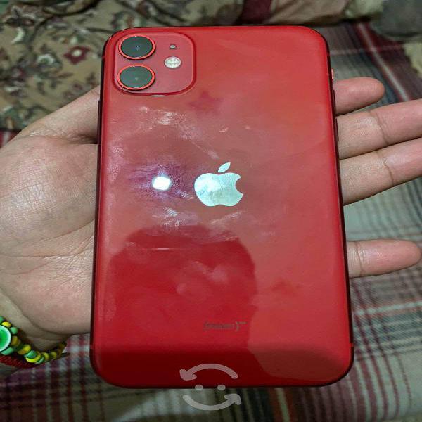 Iphone 11 red 64 gigas liberado de fabrica