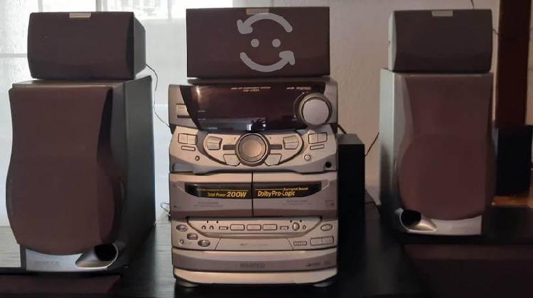 Stereo kenwood 200w