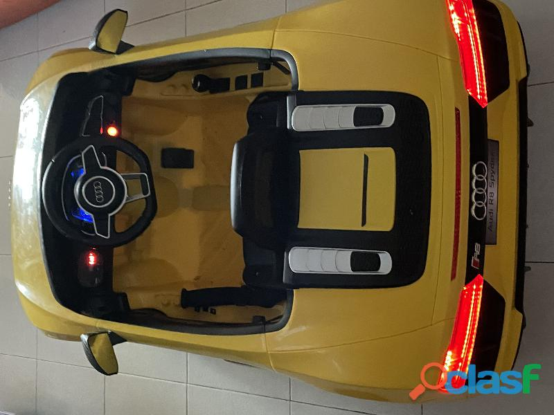 Carro Audi montable eléctrico 1