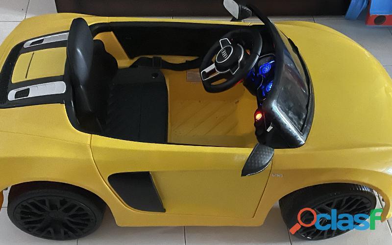 Carro Audi montable eléctrico 2