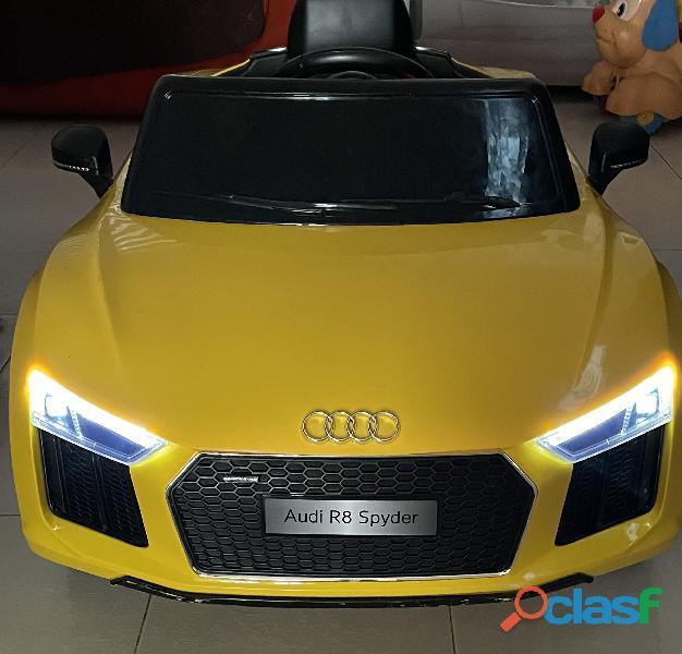 Carro Audi montable eléctrico 3
