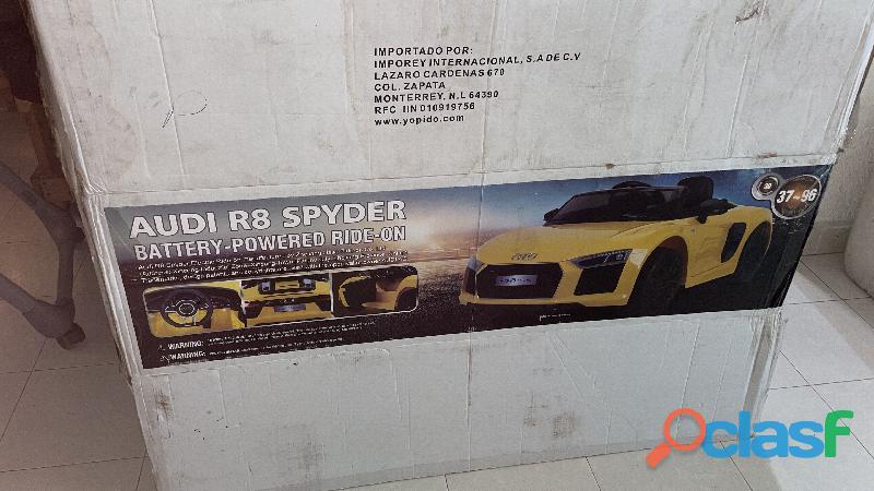 Carro Audi montable eléctrico 4