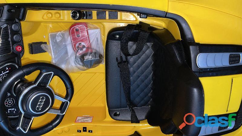 Carro Audi montable eléctrico 5