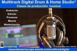 Clases de produccion musical zona sur cdmx