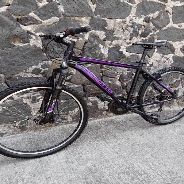 Bicicleta benotto de aluminio