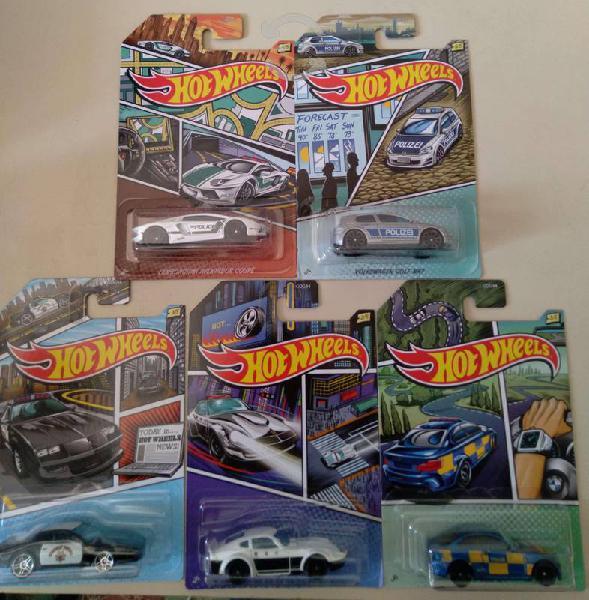 Colección patrullas hot wheels