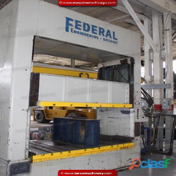Troqueladora FEDERAL 100 ton, en Venta