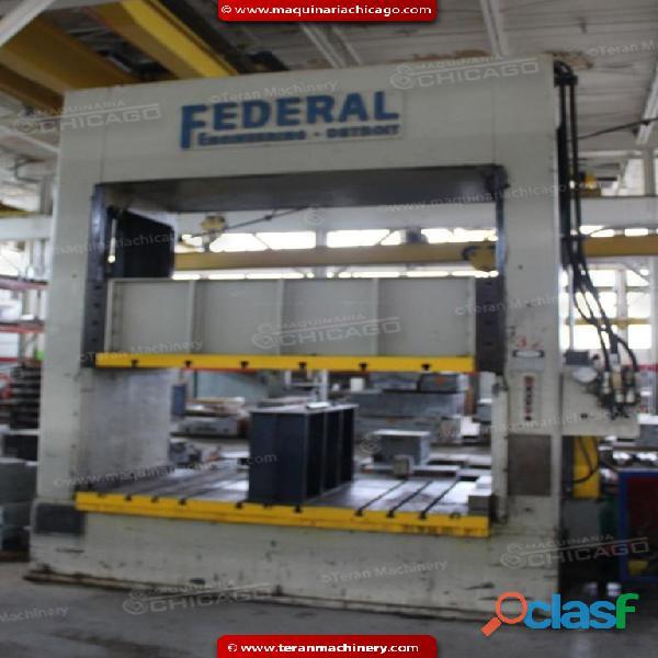 Troqueladora FEDERAL 100 ton, en Venta 1
