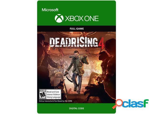 Dead rising 4, xbox one - producto digital descargable