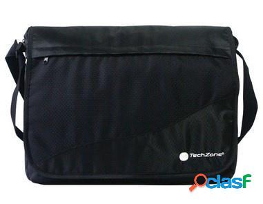 "Techzone maletín para laptop 15.6"", negro"