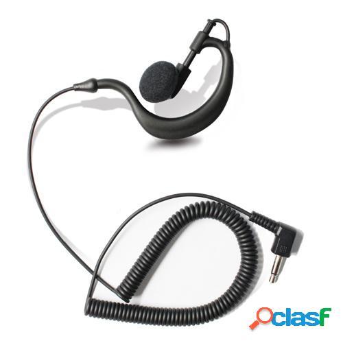 Txpro audífono intrauricular, alámbrico, 3.5mm, negro