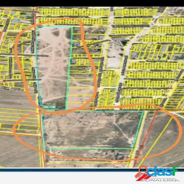 Cib vende 6 hectareas para uso habitacional al norte