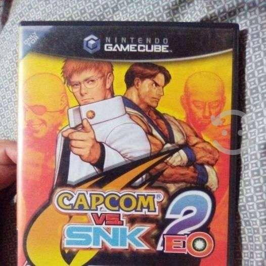 Capcom vs snk 2 nintendo gamecube- negociable!!