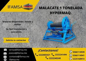 Venta / malacate hypermaq