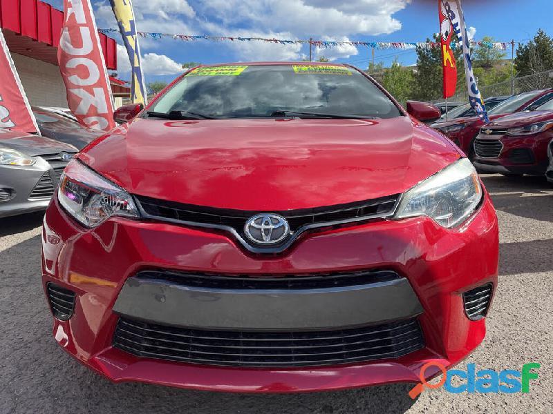 Toyota Corolla 2015 modelo a la venta muy barato