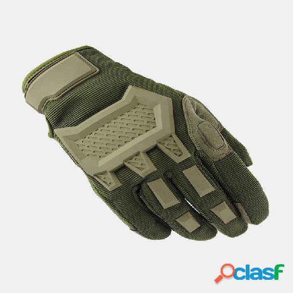 Equitación tácticas de escalada en roca se refiere protección antideslizante resistente al desgaste guantes