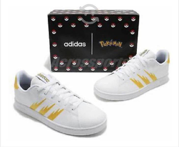Tenis pokémon adidas original últimos pares