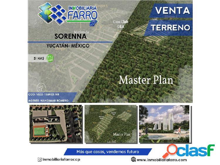 Lotes residenciales sorenna en yucatán méxico ve02-155mx-nr