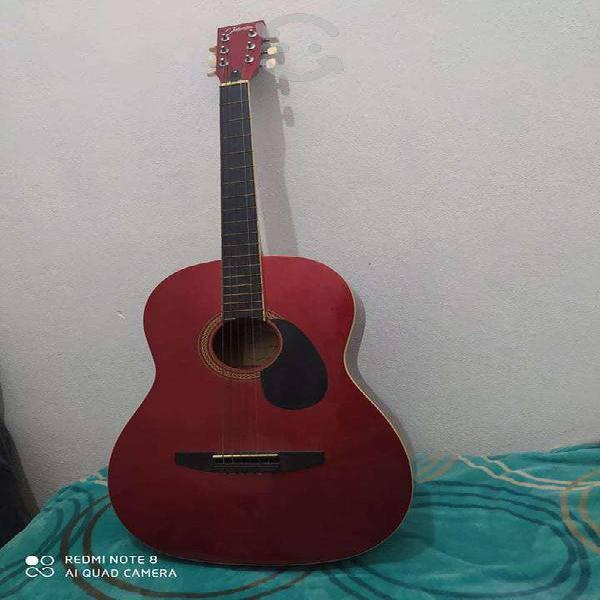 Guitarra acustica jhonson's jg100 excelente estado