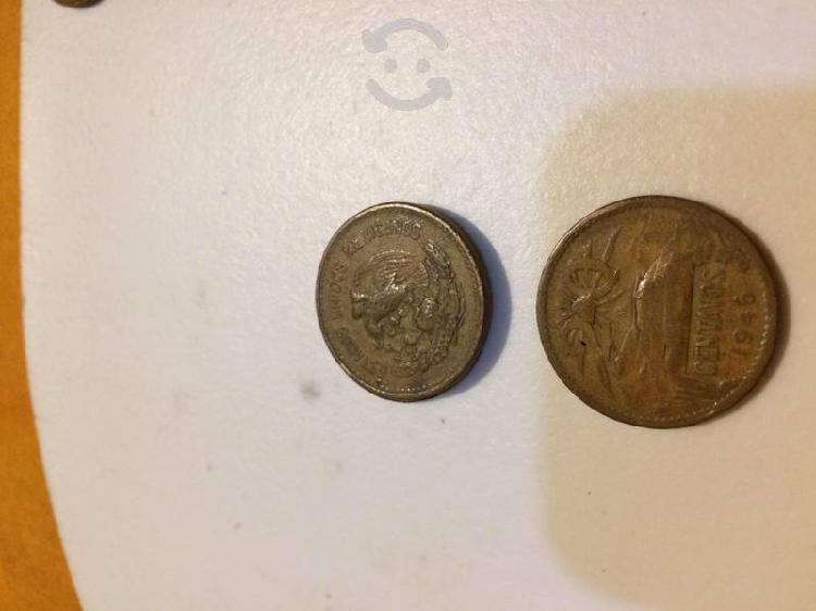 Moneda cobre 20 centavos méxico