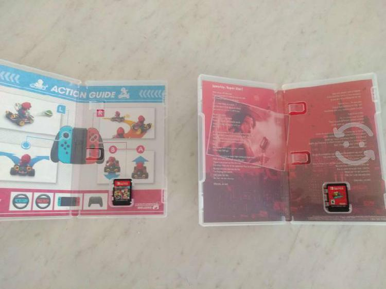 Super Mario Oddysey + Mario Kart 8