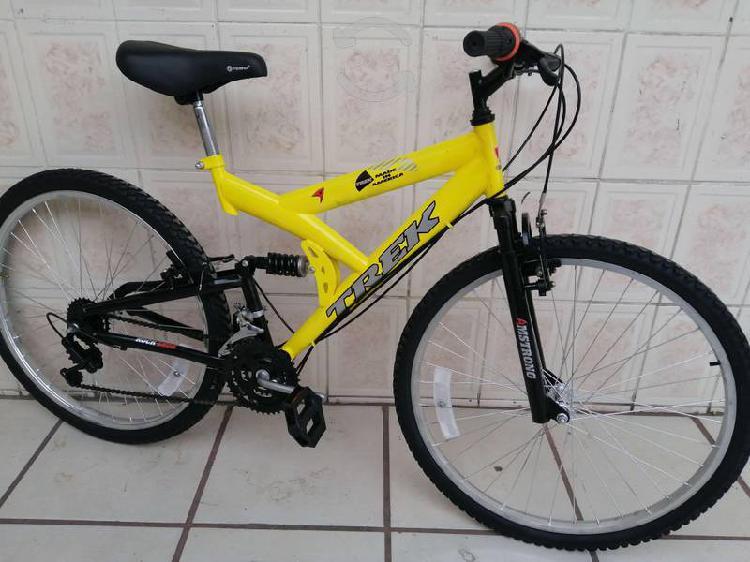Bici rodado 26 amarilla centro americano