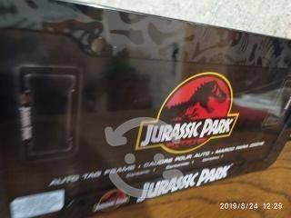 Jurassic park portaplacas nuevos