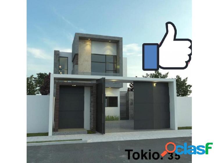 Casa en preventa modelo tokio en residencial romanza colima