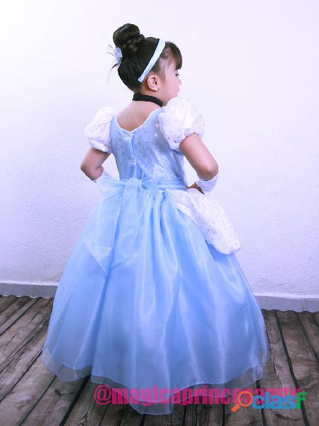 Vestido Cenicienta NUEVO Entrega Inmediata 8