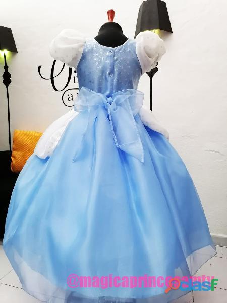 Vestido Cenicienta NUEVO Entrega Inmediata 5