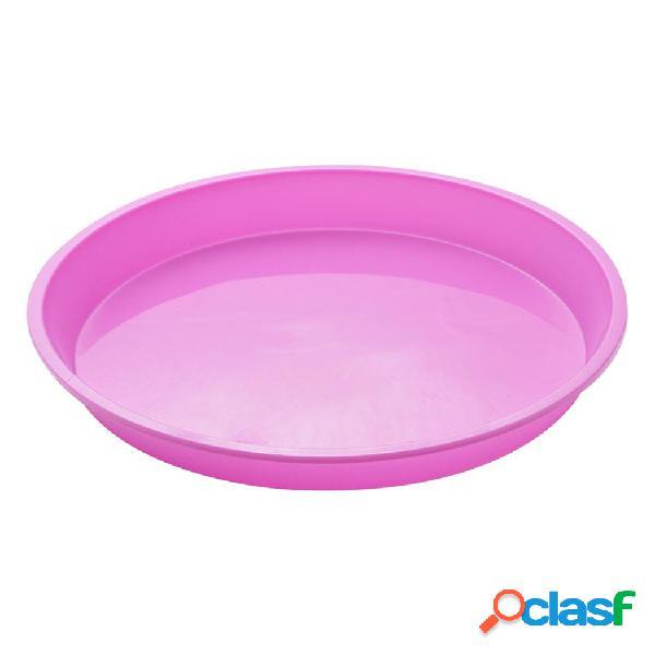 Molde para tartas con forma redonda silicona molde para hornear estuches para muffins forro para magdalenas molde para hornear tartas utensilios para hornear