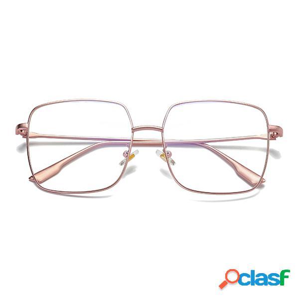 Anti blue rays anteojos de computadora protección de lectura eye retro marcos de metal gafas marco unisex