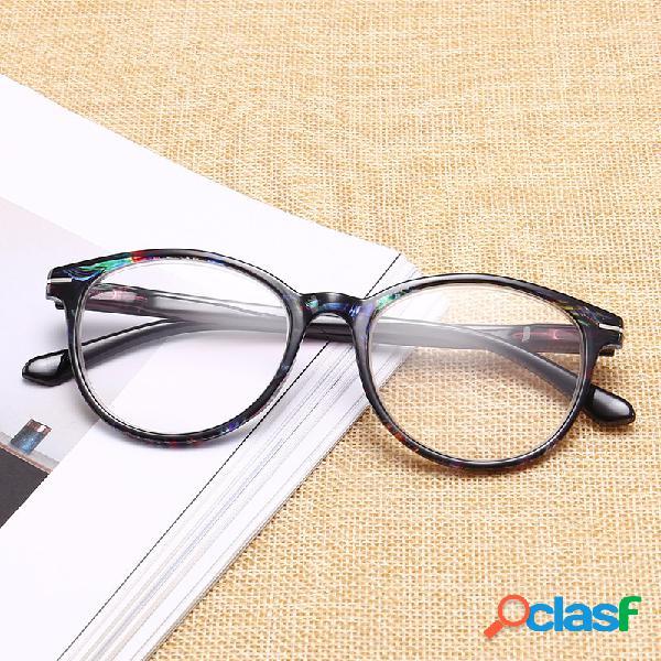 Gafas de ojo de lectura gafas de marco de forma redonda vintage gafas hd lentes