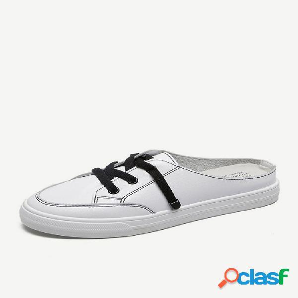 Mujer zapatos casuales planos