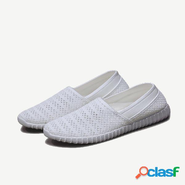 Mujer zapatos casuales de malla transpirable
