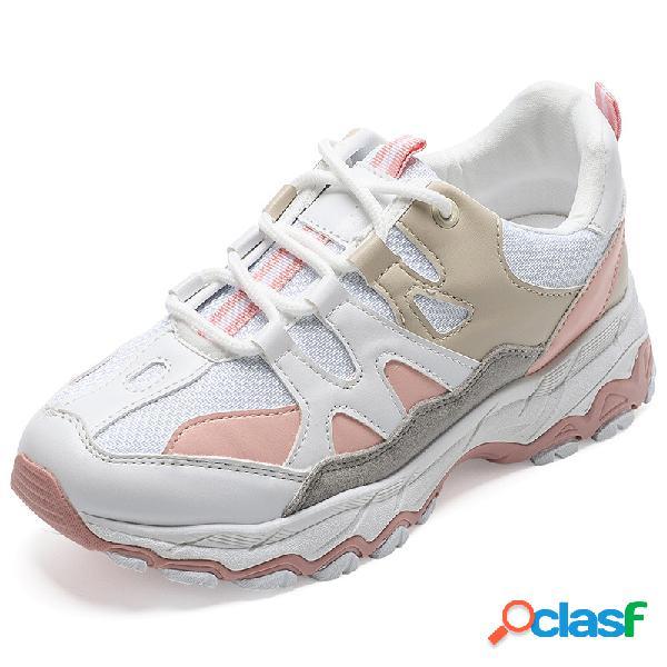 Mujer transpirable impermeable soft calzado deportivo informal inferior
