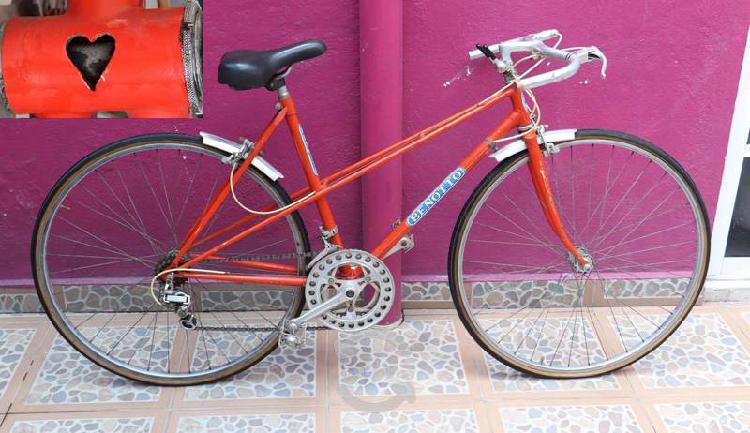 Bicicleta benotto ruta corazón para mujer