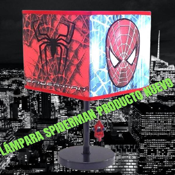 Lámpara spiderman hombre araña nuevas