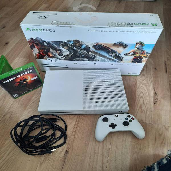 Xbox one s de 1tb con tom raider