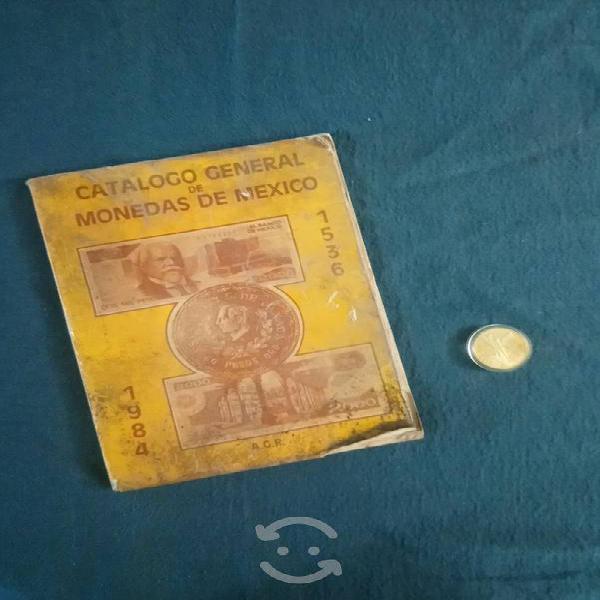 Catálogo de monedas de méxico 1984