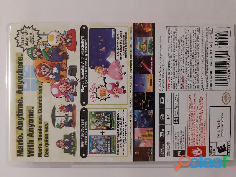 Super Mario U Deluxe Nintendo Switch 1