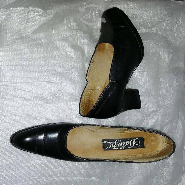 Zapatos de piel marca precio 1 sola puesta